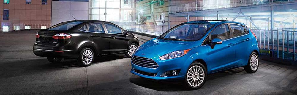 2016 Ford Fiesta Pair