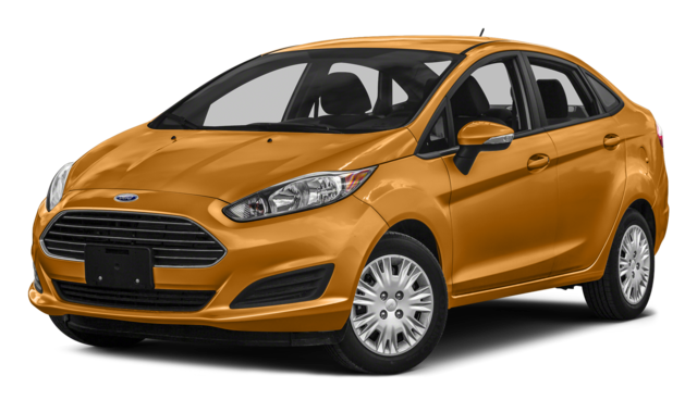 2016 Ford Fiesta Orange