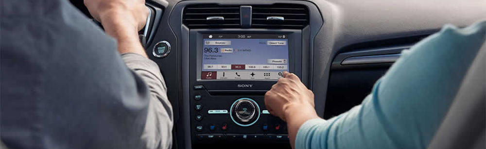 2017 Ford Fusion Touchscreen