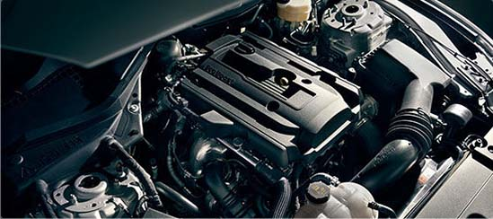 2017 Ford Mustang Engine CLoseup