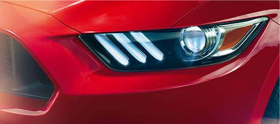 2017 Ford Mustang Headlight