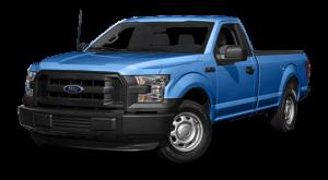 2016 blue Ford F-150 Model