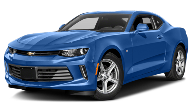 2017 Chevy Camaro Blue