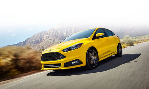 2017 Ford Focus Yellow