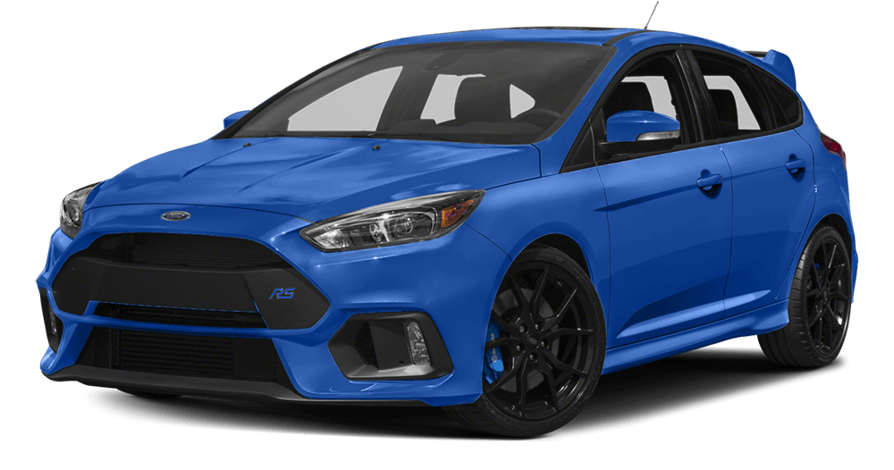 2017 Ford Focus Blue