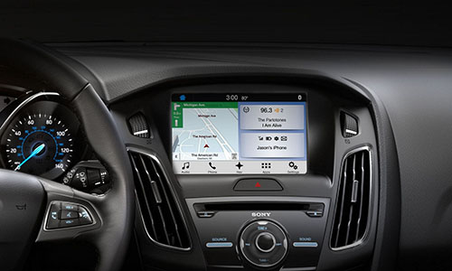 2017 Ford Focus Touchscreen