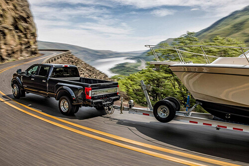 2017 Ford Super Duty Boat