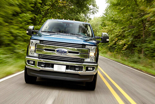 2017 Ford Super Duty Grill