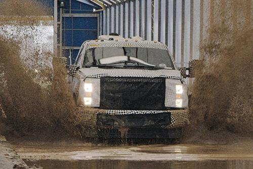 2017 Ford Super Duty Muddy
