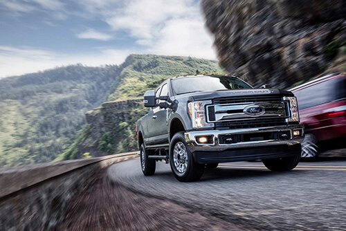 2017 Ford Super Duty Curve