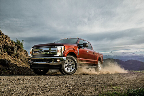 2017 Ford Super Duty Dusty