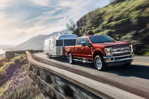 2017 Ford Super Duty Red