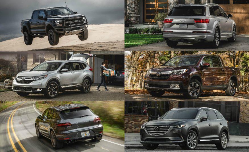 Honda Vehicles Win Top Honors In Car And Driver S 2017 10best Trucks