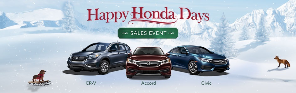 Happy Honda Days Banner