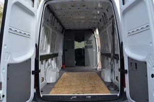 Mercedes Benz Sprinter Cargo Van Back