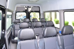Mercedes Benz Sprinter Passenger Van Interior
