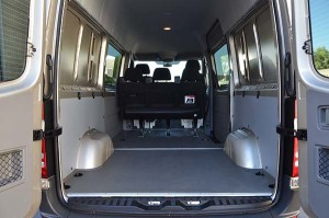 Mercedes Benz Sprinter Conversion Van Cargo Area