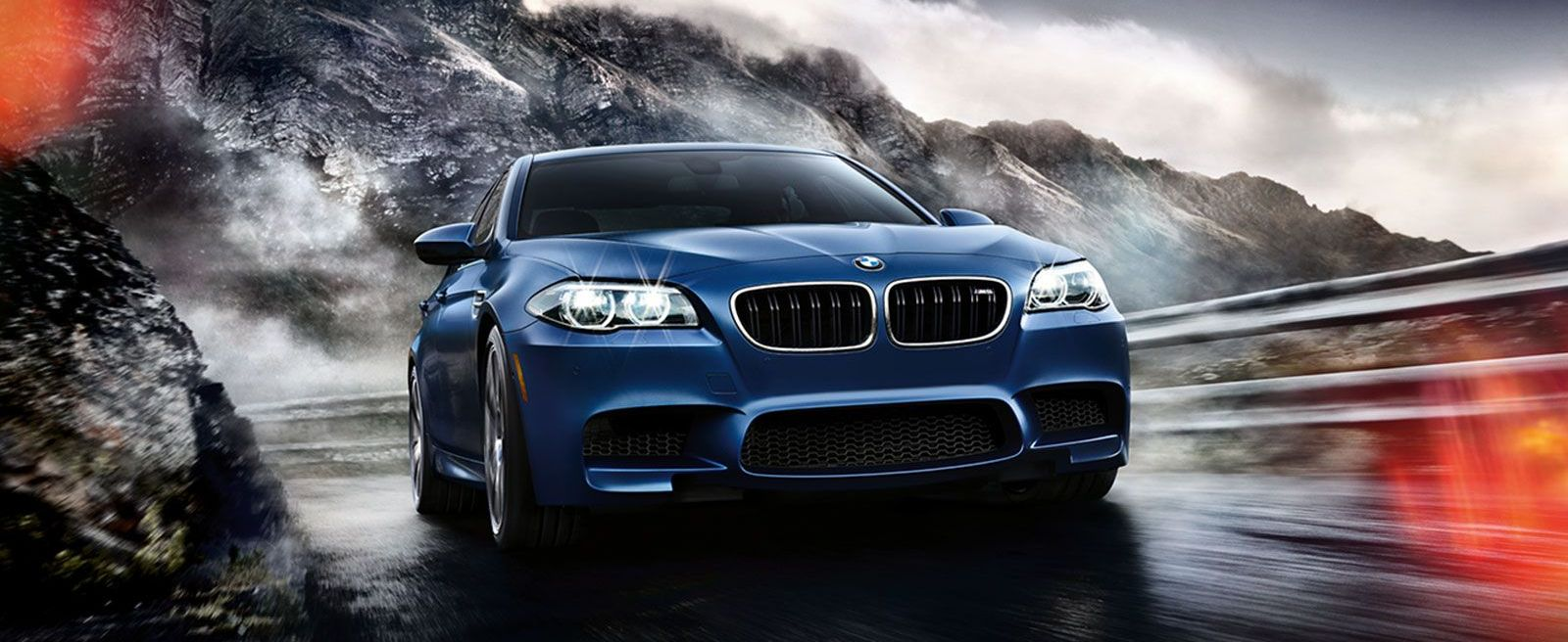 Blue BMW M Series