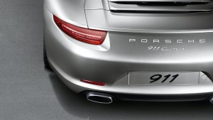 Porsche 911 Carrera rear end