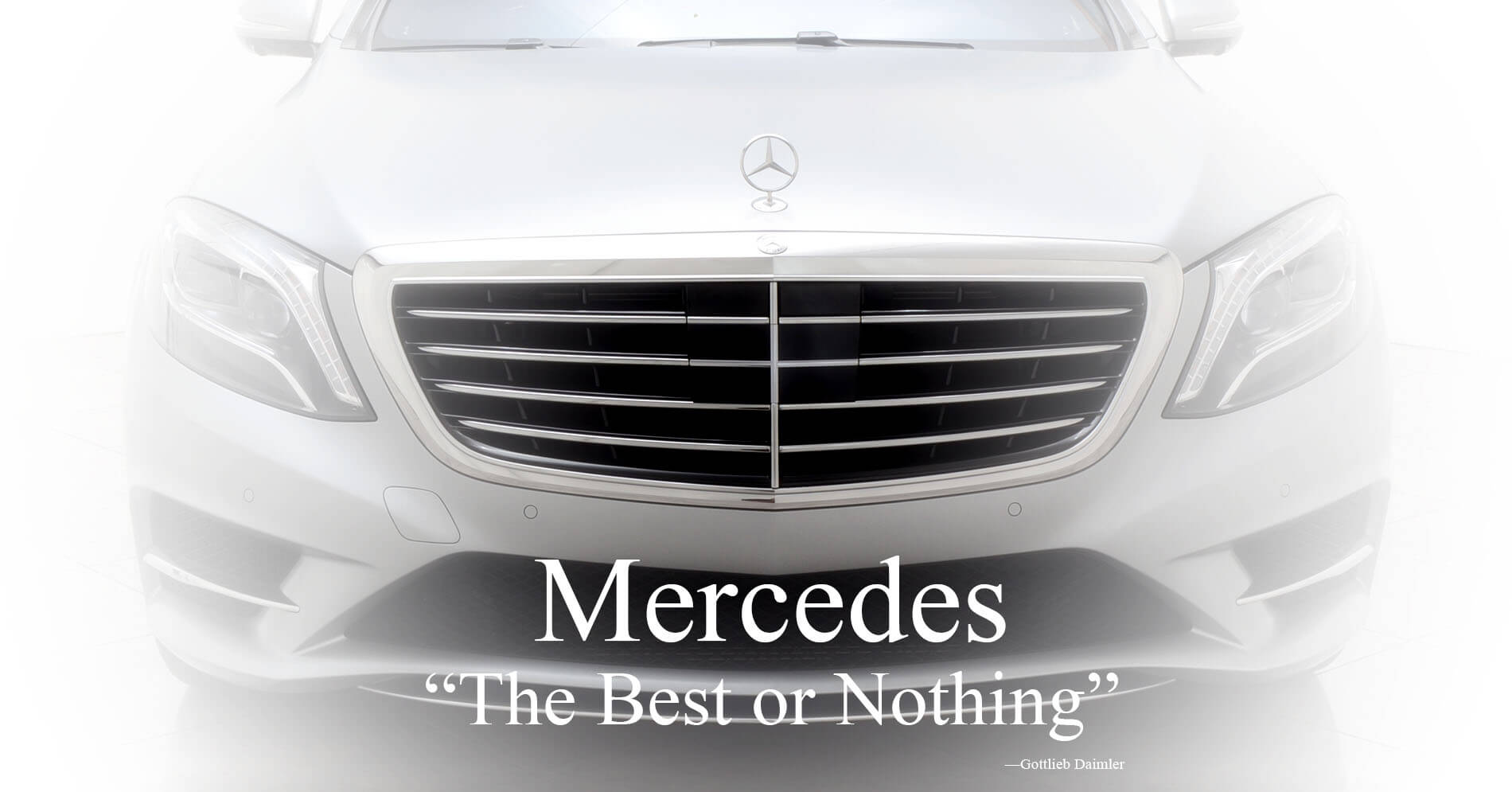 Mercedes Financing The Best or Nothing