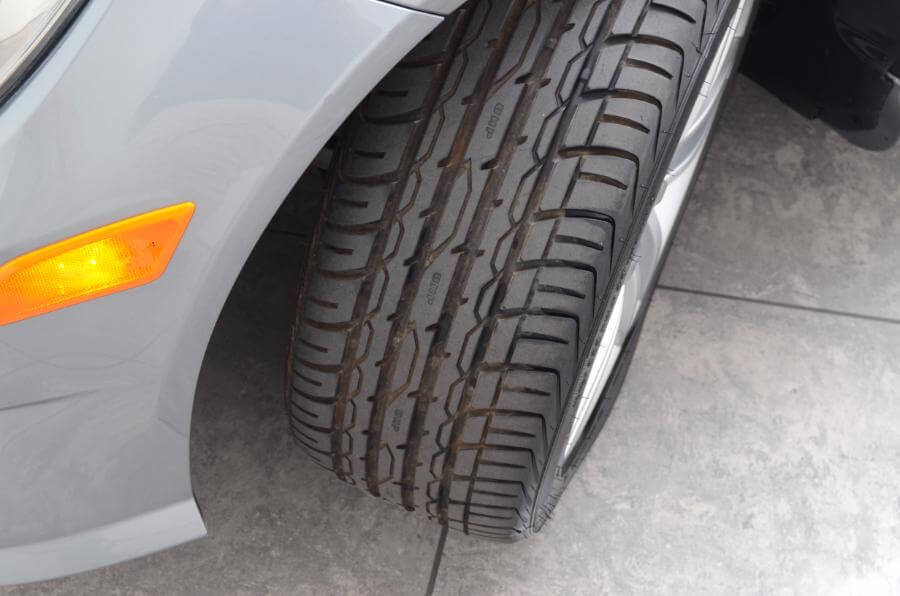 2012 Mercedes C250 Drivers Side Tire