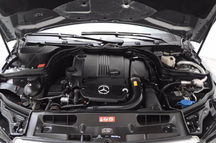 2012 Mercedes C250 Engine