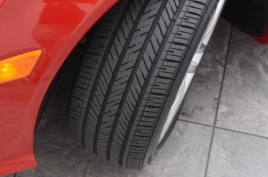 2012 Mercedes C250 Front Divers Side Tire