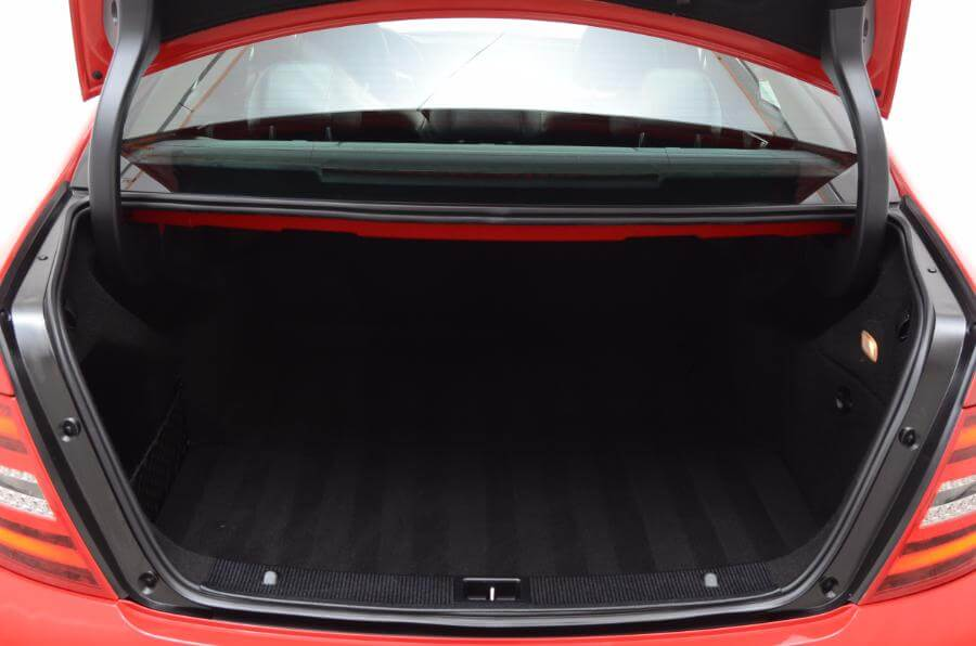 2012 Mercedes C250 Trunk