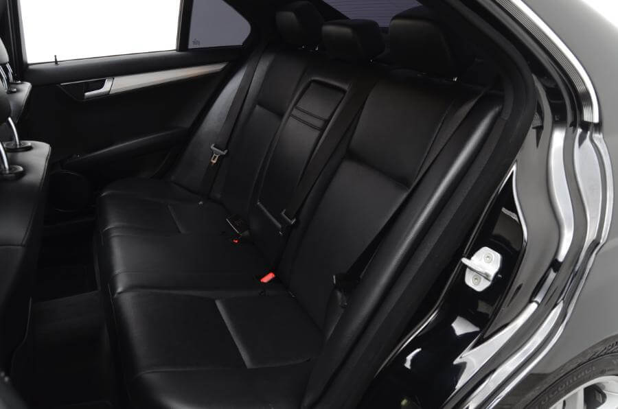 2013 Mercedes C250 Backseat