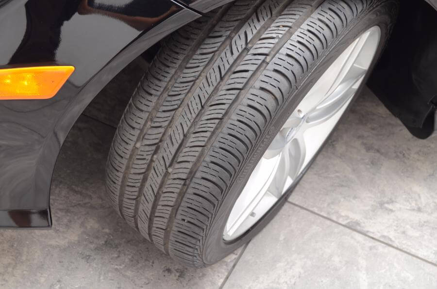 2013 Mercedes C250 Front Drivers Side Tire