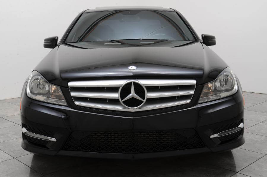 2013 Mercedes C250 Head On