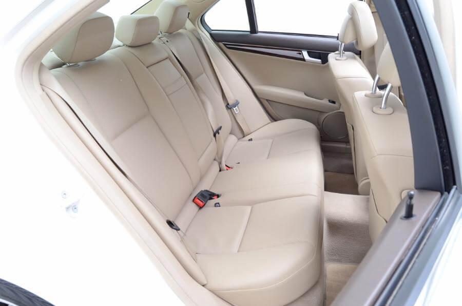 2014 Mercedes C250 Backseat