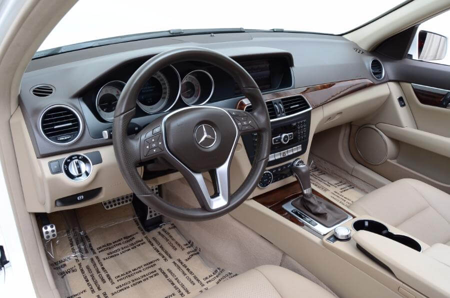 2014 Mercedes C250 Drivers Seat