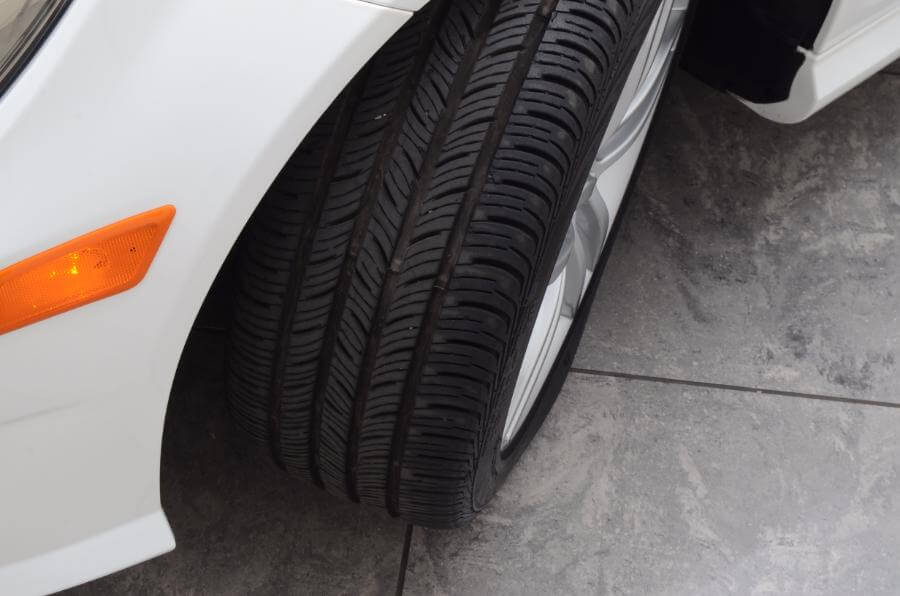 2014 Mercedes C250 Front Drivers Side Tire