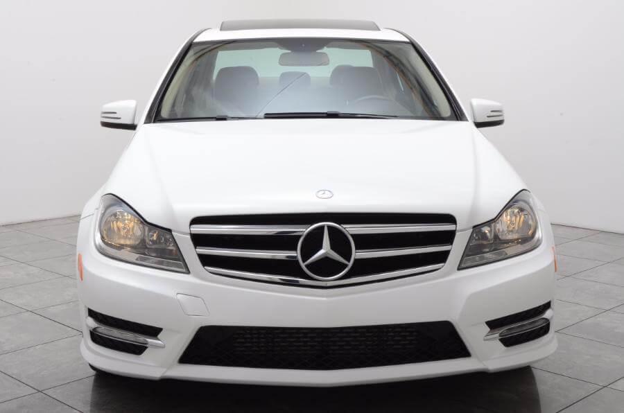 2014 Mercedes C250 Head On