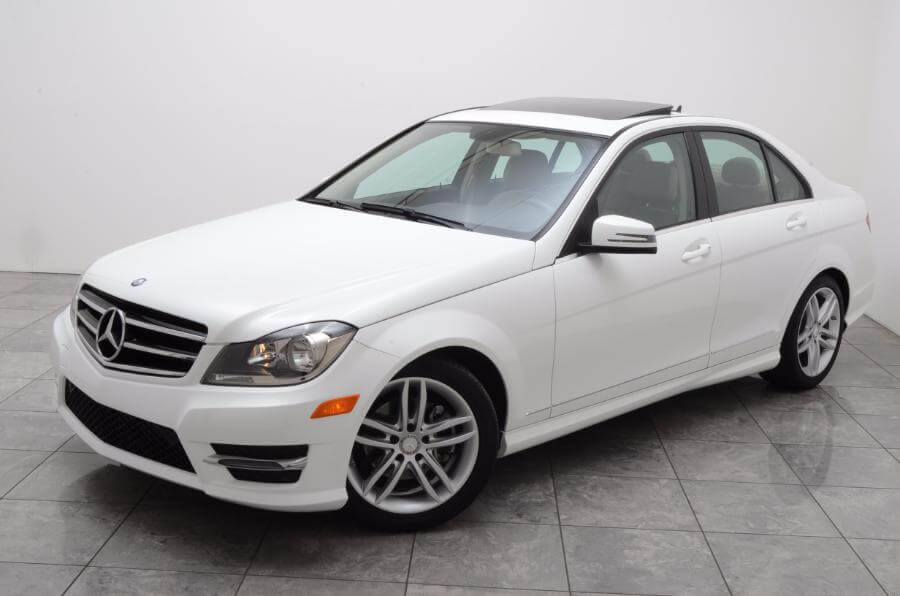 2014 Mercedes C250 Whole Car Drivers Side