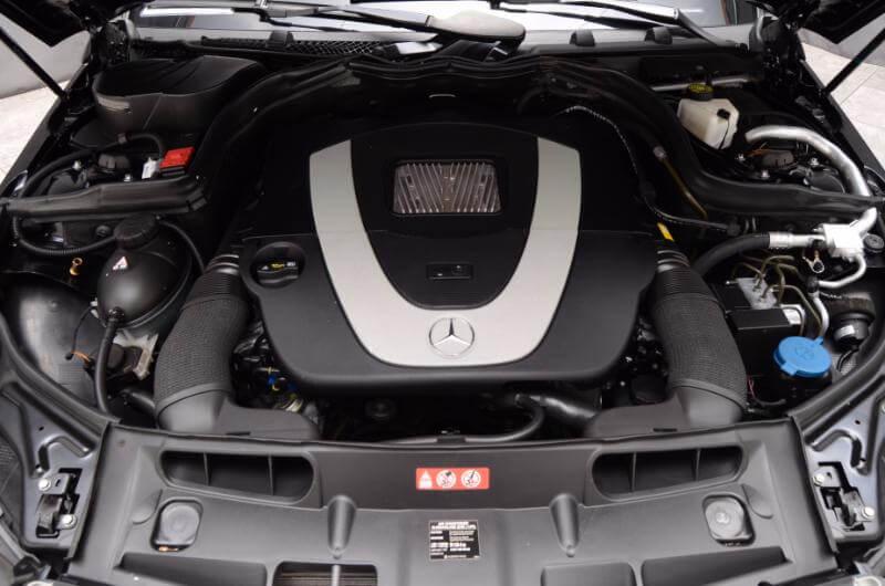 2012 Mercedes C300 Exterior Engine