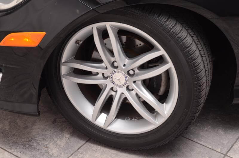 2012 Mercedes C300 Exterior Front Drivers Side Wheel
