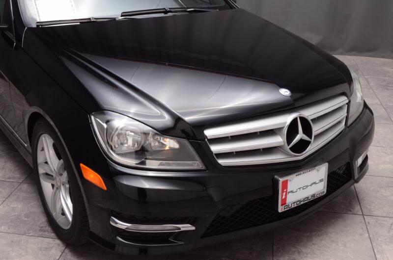 2012 Mercedes C300 Exterior Front Passengers Side