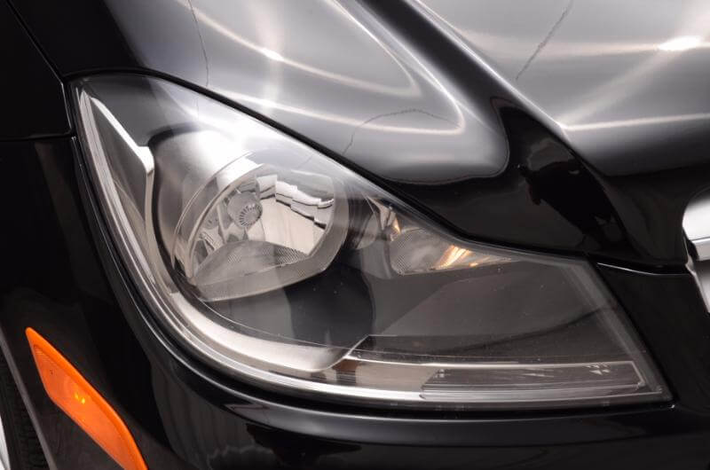 2012 Mercedes CLA250 Exterior Passengers Side Headlight