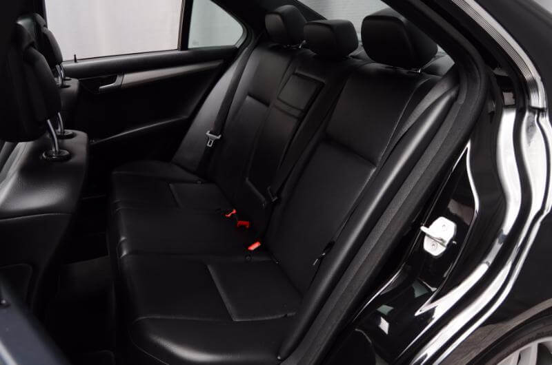 2012 Mercedes C300 Interior Drivers Side Backseat