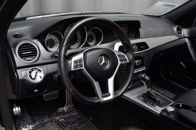 2012 Mercedes C300 Interior Drivers Side