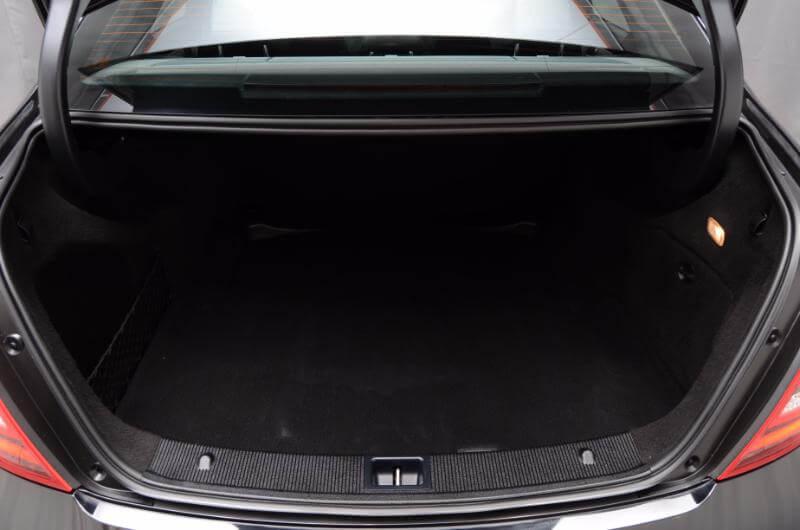 2012 Mercedes C300 Interior Trunk