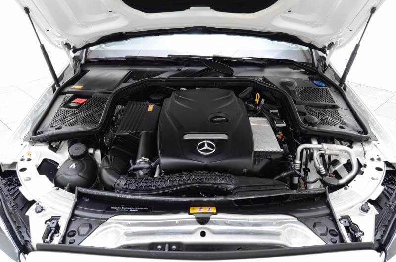 2015 Mercedes C300 Engine