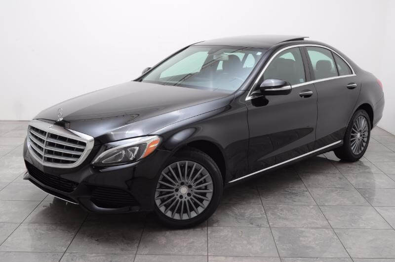 2015 Mercedes C300 Lxurry Exterior Drivers Side