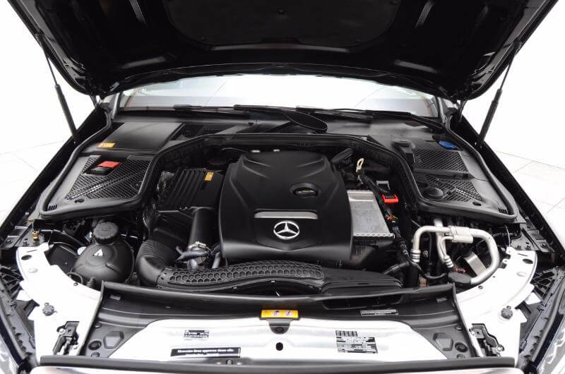 2015 Mercedes C300 Lxurry Exterior Engine