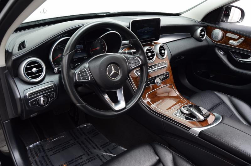 2015 Mercedes C300 Lxurry Interior Drivers Seat