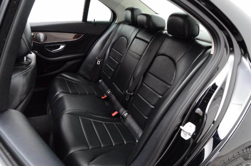 2015 Mercedes C300 Lxurry Interior Drivers Side Backseat