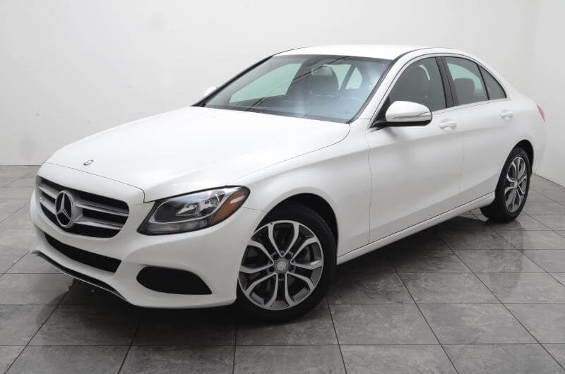 2015 Mercedes C300 Whole Car Drivers Side