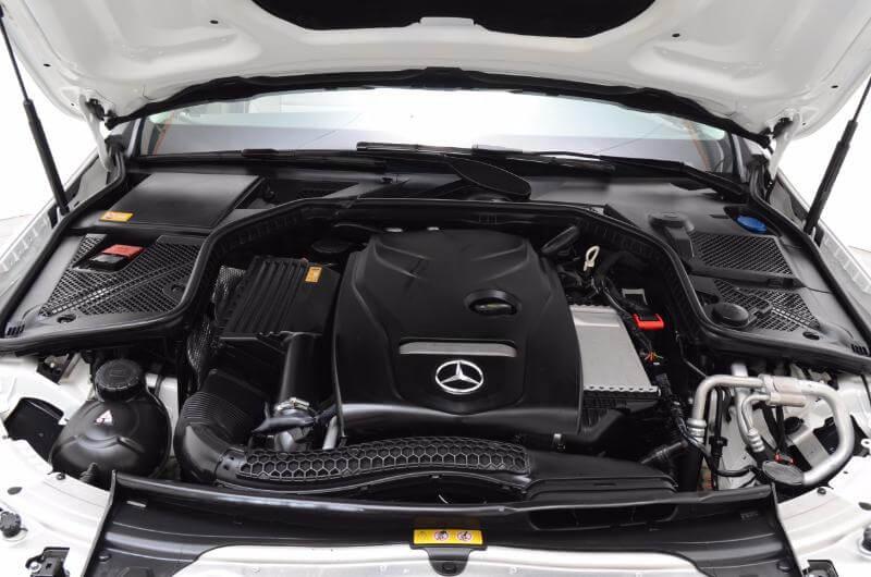 2015 Mercedes C300l Exterior Engine